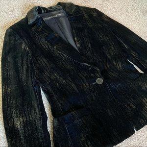 Richard Tyler Vintage Shimmery Velvet Blazer